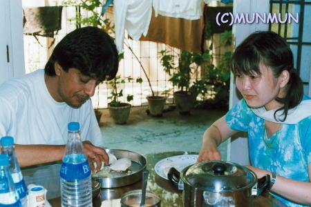 Iddly with Raghuvaran (2002.9.22)