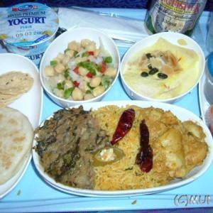 機内食マニア:20041229 SQ410便 ノンベジ機内食