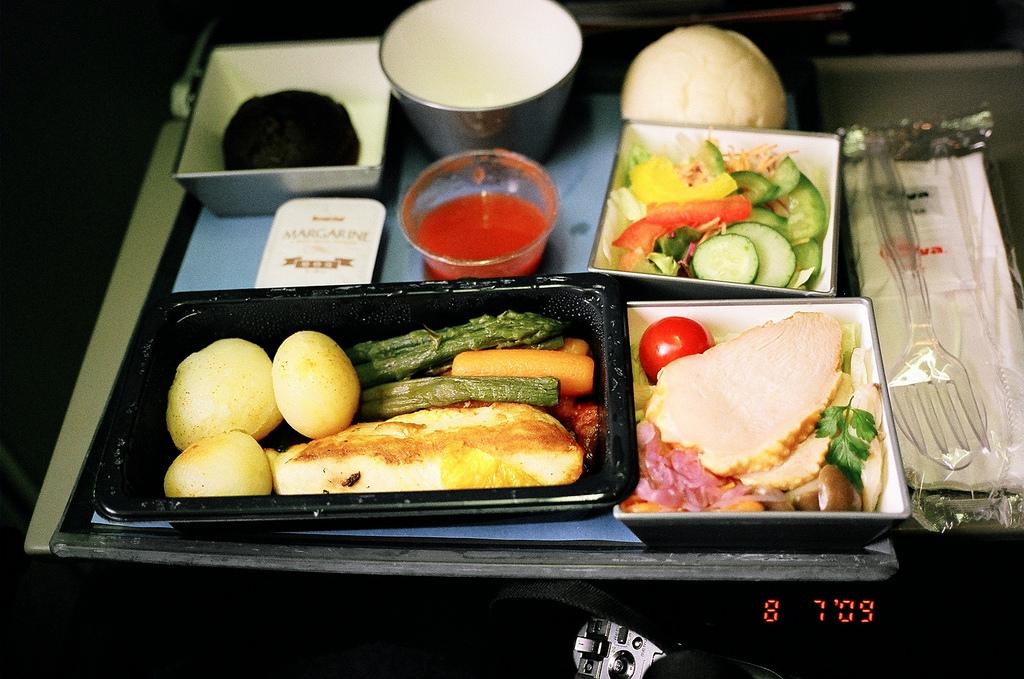 NW20の機内食(diabetic)