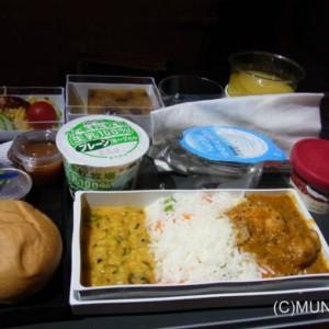 機内食マニア:20121109 SQ11便 ヒンドゥー機内食