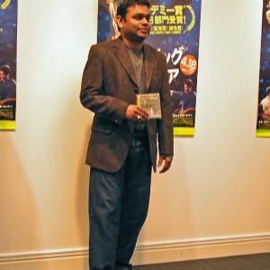 A.R.Rahman初来日!