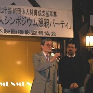 Santosh Sivan 2007.9.28 in Tokyo (4)