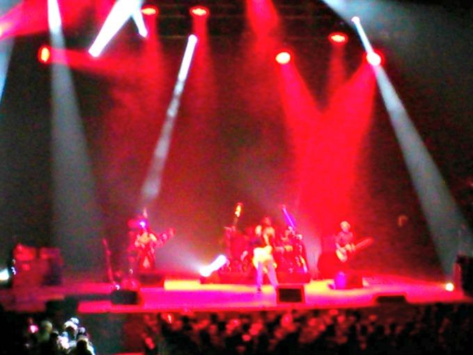 ジェフ・ベックのコンサートを見てきました