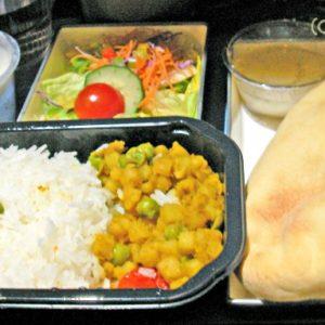 ノースウェスト航空のHindu機内食 NW19(NRT→SIN)