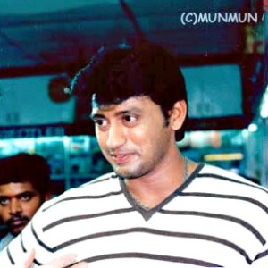 Prashanth (2001.8.1) | Majnu撮影見学♪