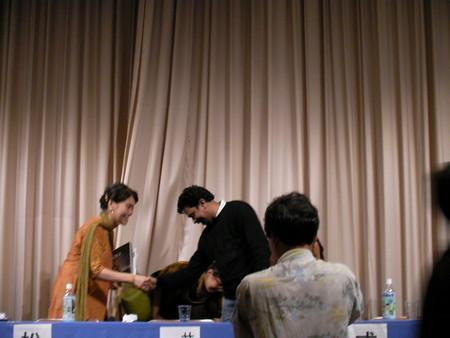 Santosh Sivan 2007.9.28 in Tokyo (3)