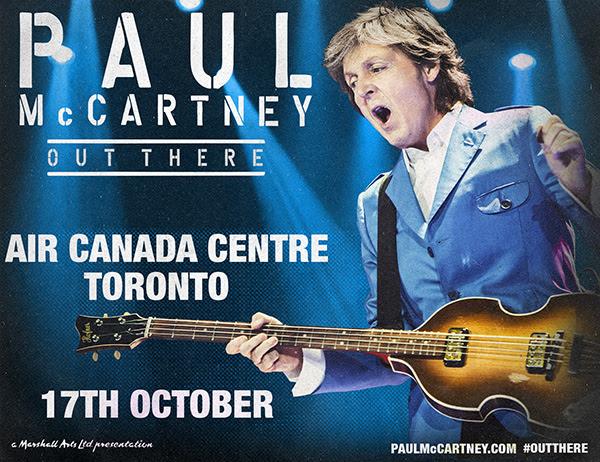 まだまだ続く、ポールのOut There! トロントで10月17日