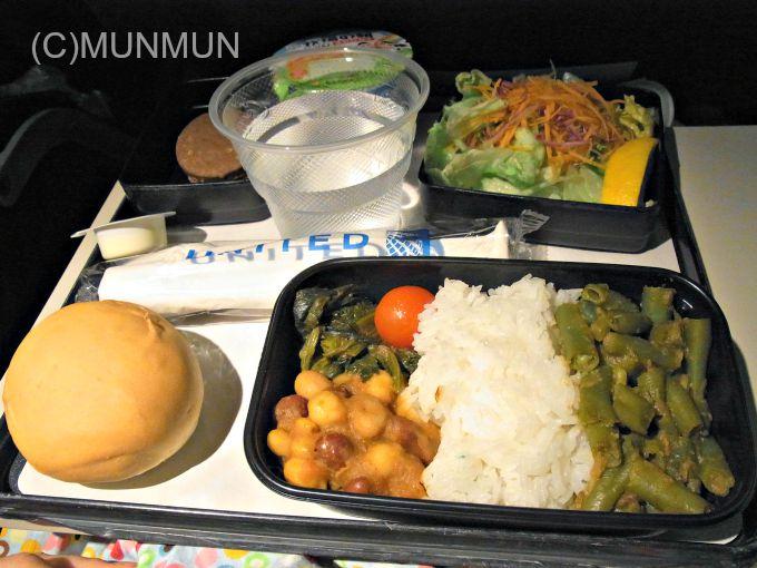 機内食マニア:20111024 UA803便 (Hindu)